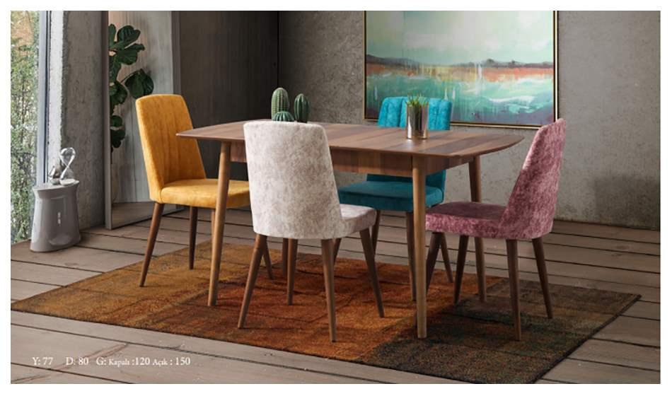 inegöl mobilya Bodrum Mutfak Masası