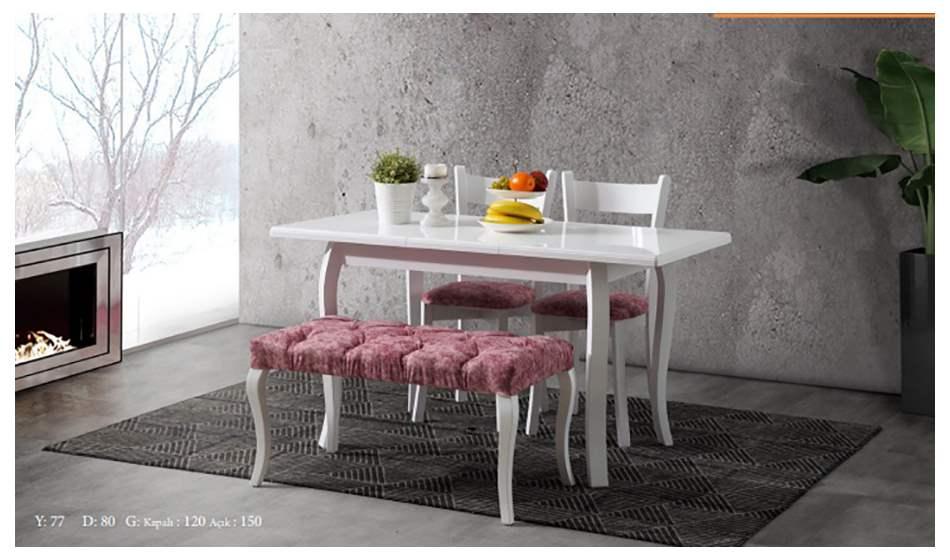 inegöl mobilya Efes Bençli Mutfak Masası