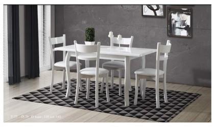 Efes Beyaz Mutfak Masası