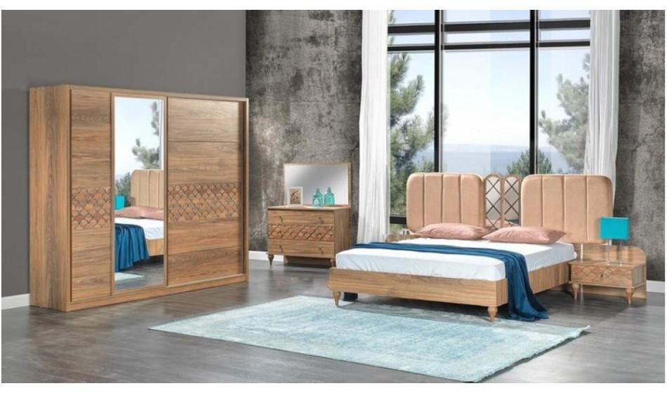 inegöl mobilya Akdeniz Ceviz Yatak Odası Takımı