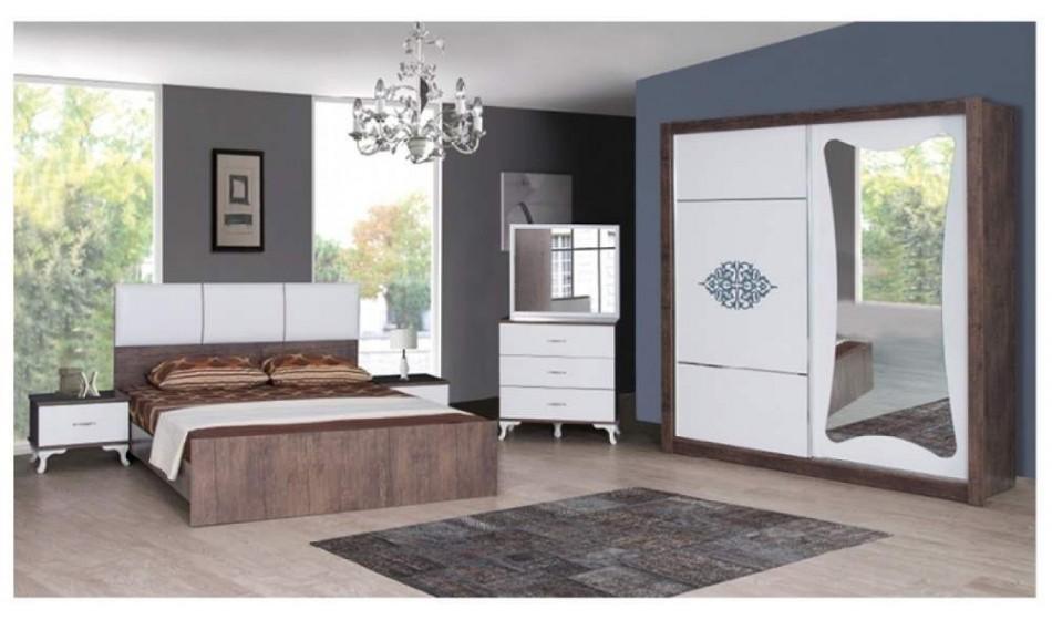 inegöl mobilya Kelebek Ceviz Yatak Odası Takımı