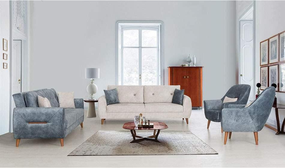 inegöl mobilya Nova Modern Koltuk Takımı 3+3+1