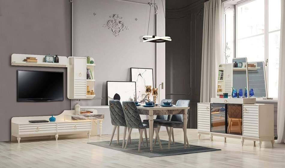 inegöl mobilya Gloria Yemek Odası Takımı