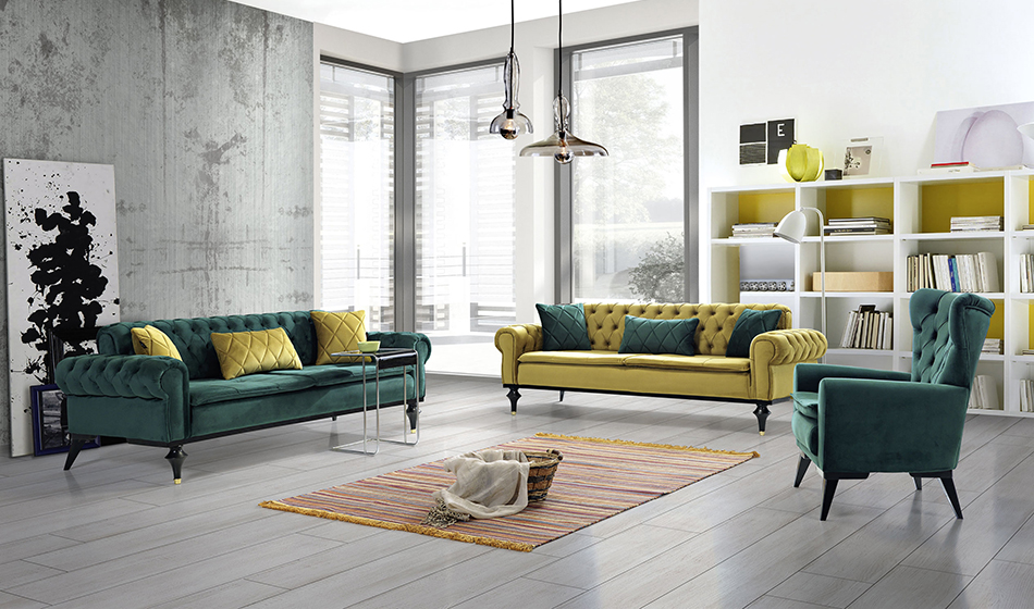 inegöl mobilya Rüya Koltuk Takımı 3+3+1
