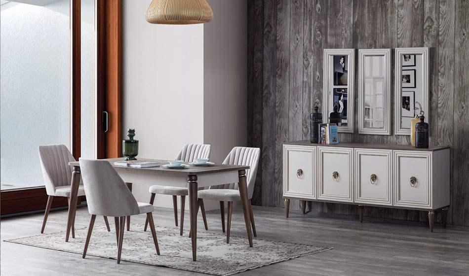 inegöl mobilya Alin Yemek Odası Takımı