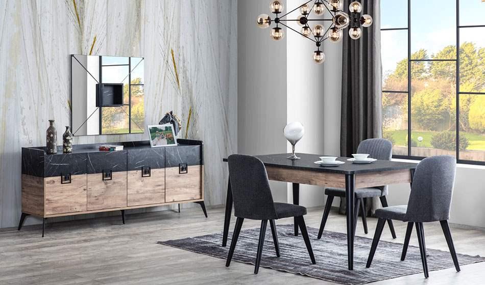 inegöl mobilya Begonya Yemek Odası Takımı