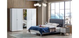 Zambak 5 Kapılı Yatak Odası Takımı