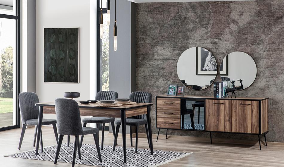 inegöl mobilya Kani Yemek Odası Takımı