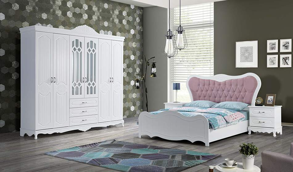 inegöl mobilya Kelebek Country Yatak Odası Takımı