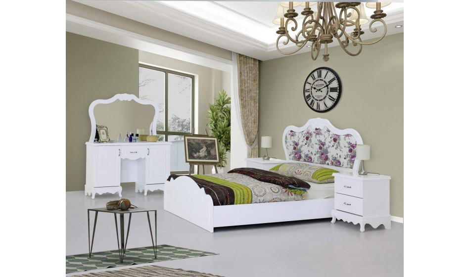 inegöl mobilya Padişah Country Yatak Odası Takımı