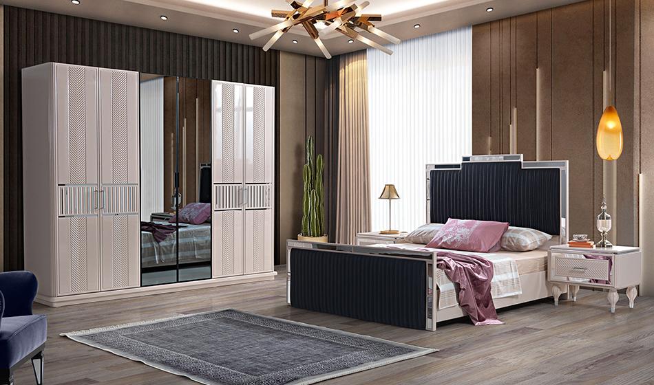 inegöl mobilya Saray Yatak Odası Takımı