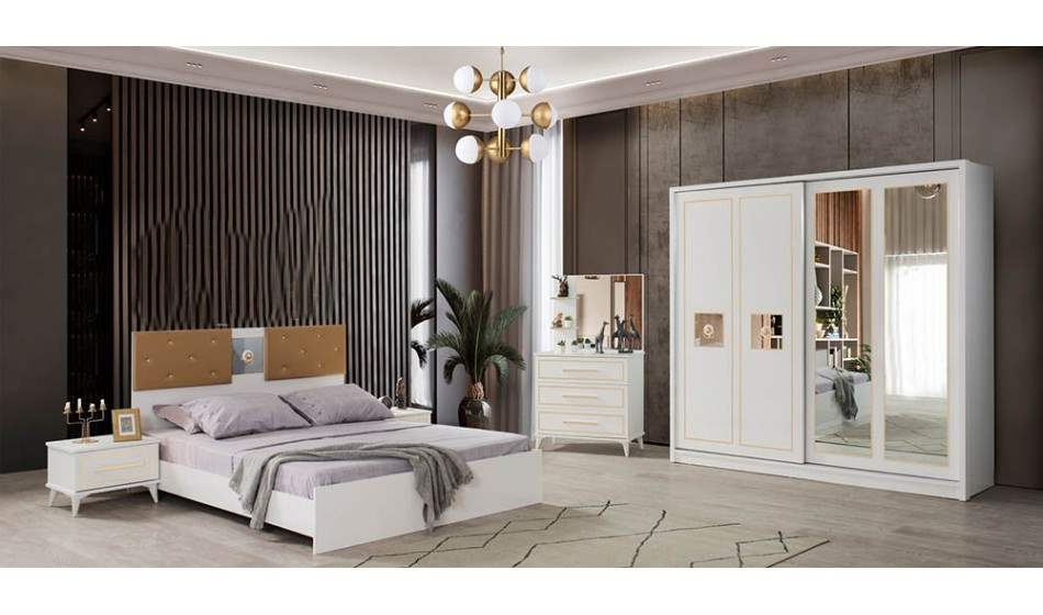 inegöl mobilya Bugatti Yatak Odası Takımı