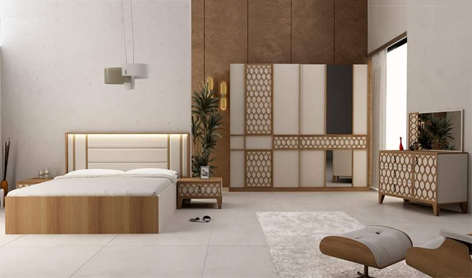inegöl mobilya Bahar Yatak Odası Takımı