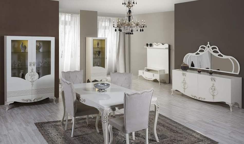inegöl mobilya Şehzade Yemek Odası Takımı