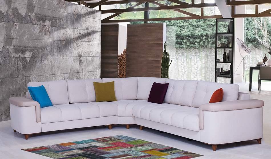 inegöl mobilya Belinda L Köşe Koltuk Takımı