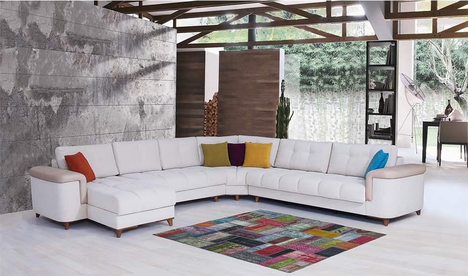 inegöl mobilya Belinda U Köşe Koltuk Takımı