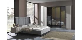 Beyzade Beyaz Yatak Odası Takımı