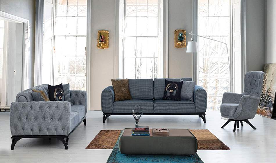 inegöl mobilya Aslı Koltuk Takımı 3+3+1