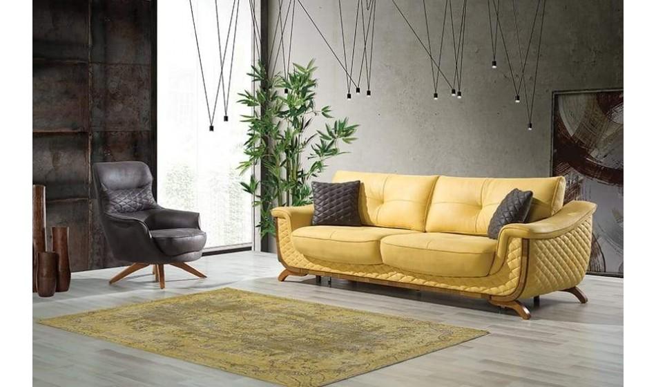 inegöl mobilya Melisa Koltuk Takımı 3+3+1
