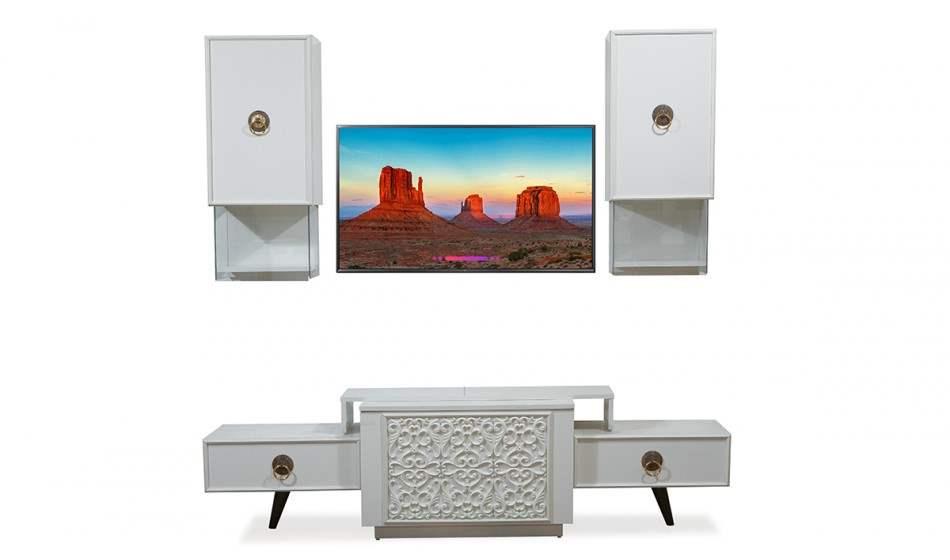 inegöl mobilya Flora Duvar Ünitesi