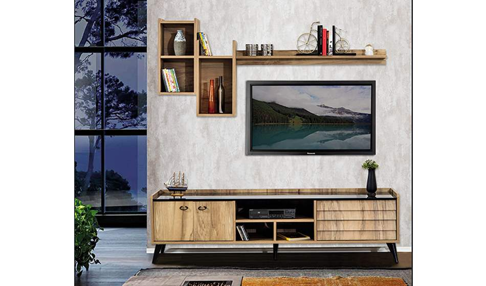 inegöl mobilya Prada Duvar Ünitesi