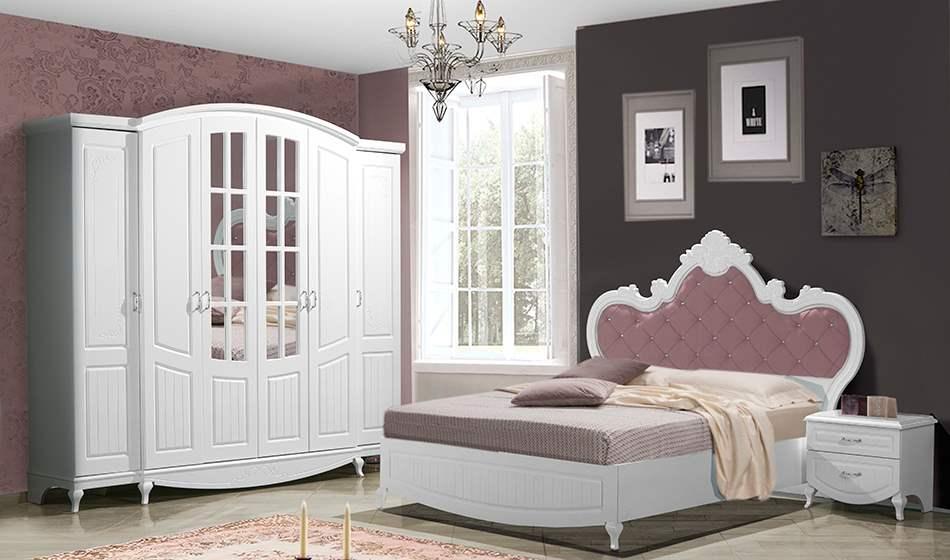 inegöl mobilya Hilal Country Yatak Odası Takımı