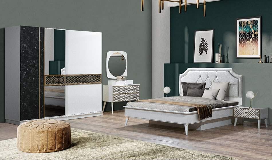 inegöl mobilya Bergama Aytaşı Yatak Odası Takımı