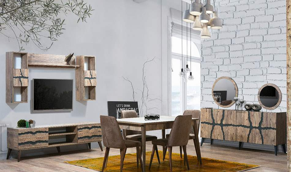inegöl mobilya Delta Yemek Odası Takımı