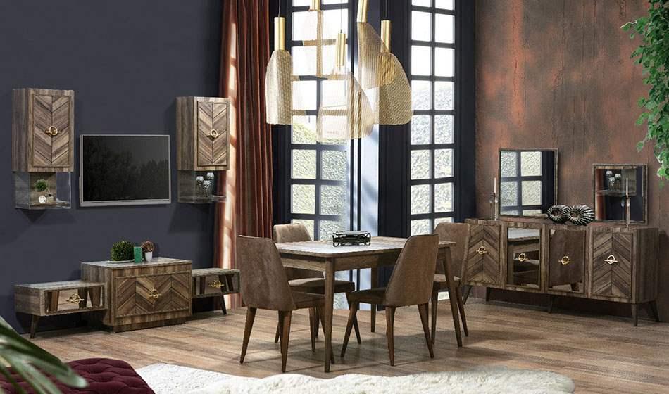 inegöl mobilya Efe Yemek Odası Takımı