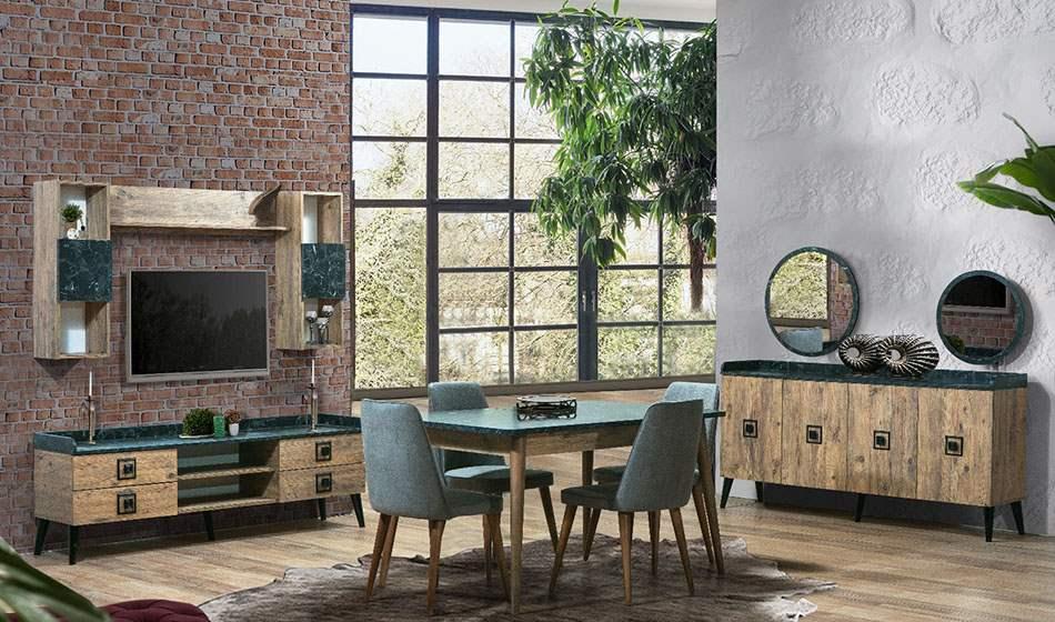 inegöl mobilya Eymen Yemek Odası Takımı
