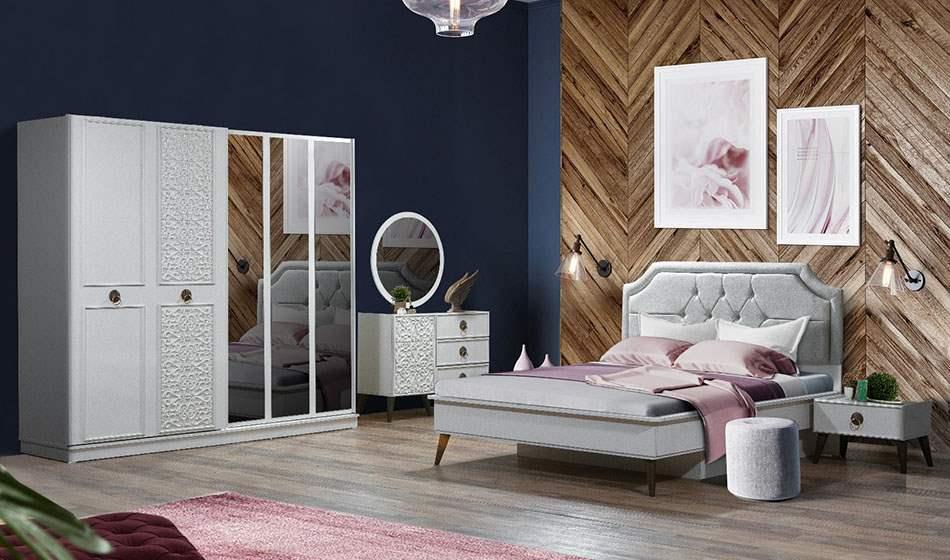 inegöl mobilya Flora Yatak Odası Takımı