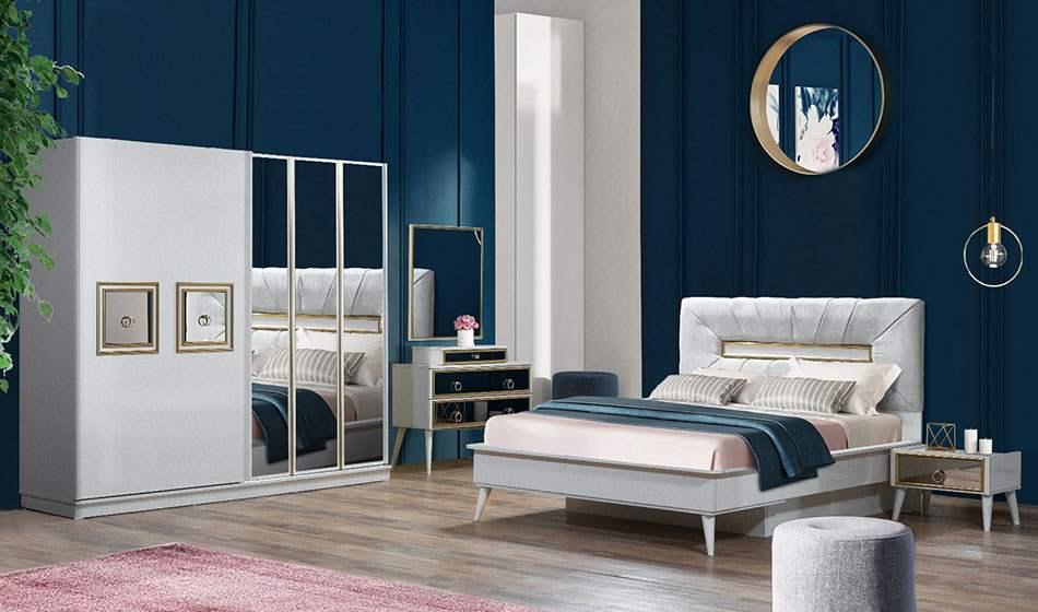 inegöl mobilya Gold Aytaşı Yatak Odası Takımı