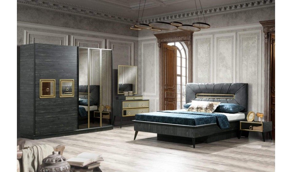 inegöl mobilya Gold Yatak Odası Takımı