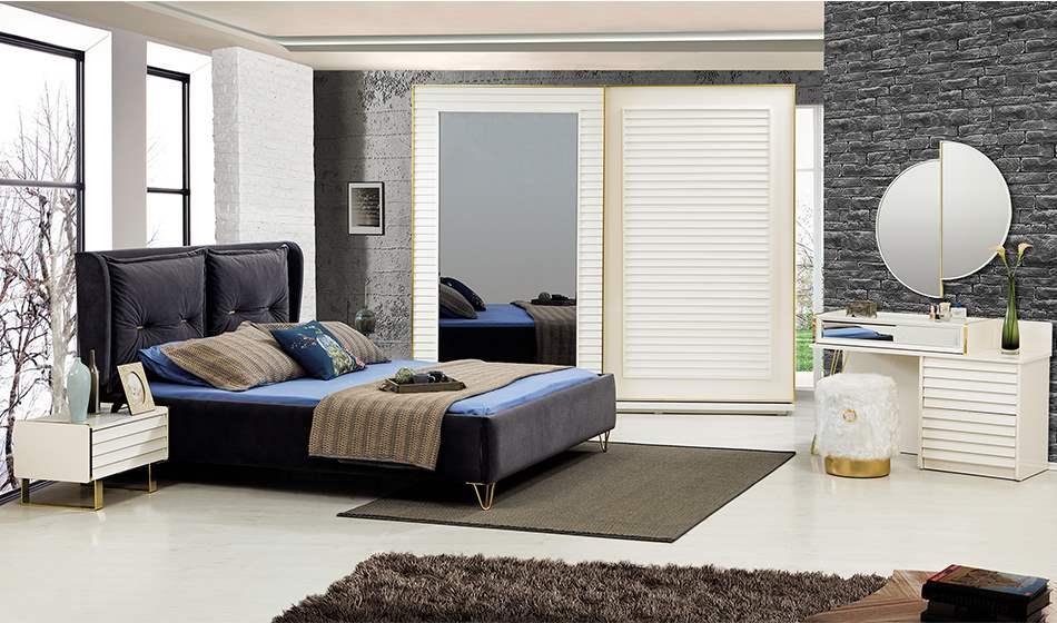 inegöl mobilya Duru Yatak Odası Takımı (Sürgülü)
