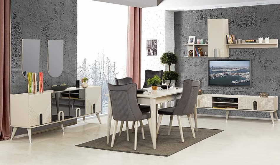 inegöl mobilya Hayal Yemek Odası Takımı