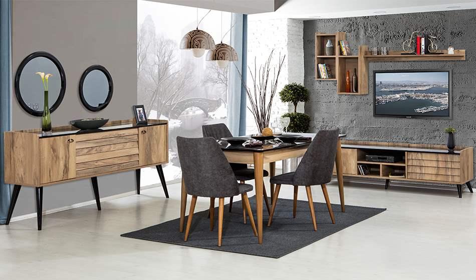 inegöl mobilya Prada Yemek Odası Takımı