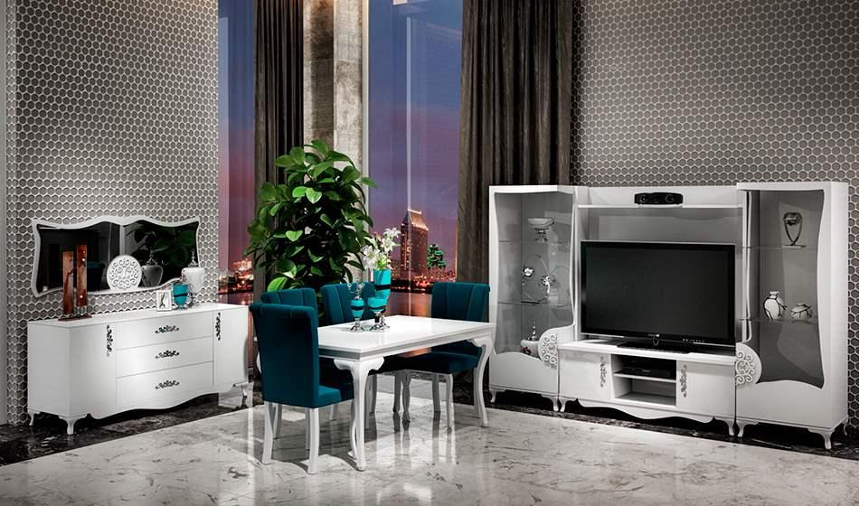 inegöl mobilya Harlem Yemek Odası Takımı