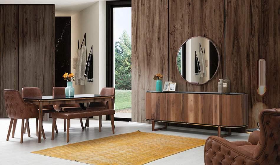 inegöl mobilya Marvel Yaşam Odası