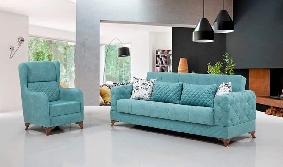 inegöl mobilya Doğuş Koltuk Takımı 3+3+1