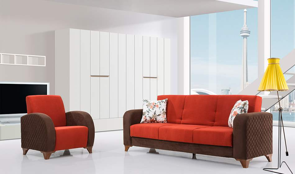 inegöl mobilya Yağmur Koltuk Takımı 3+3+1