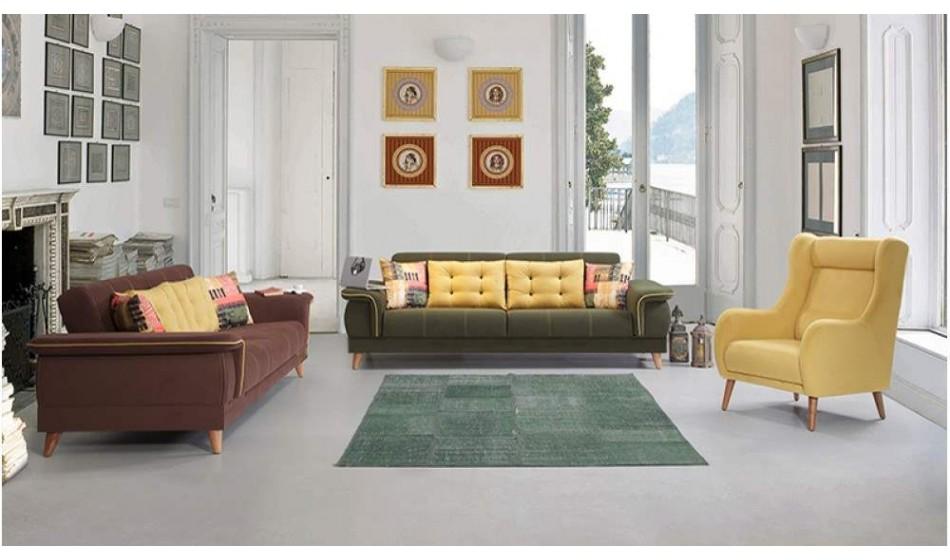 inegöl mobilya Stella Koltuk Takımı 3+3+1