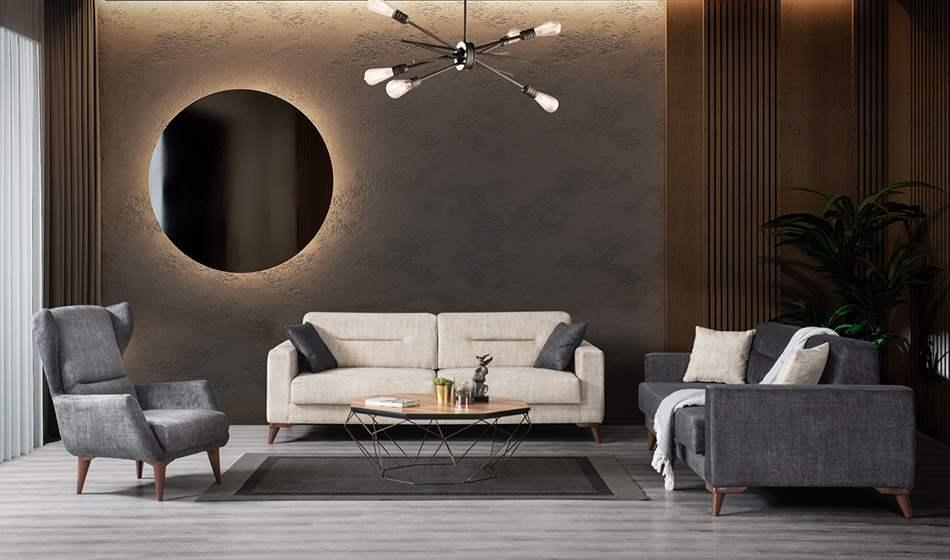 inegöl mobilya Arte Koltuk Takımı 3+3+1