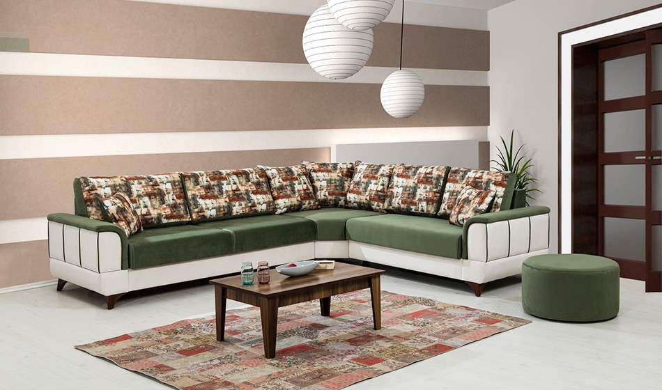 inegöl mobilya Flora Köşe Koltuk Takımı