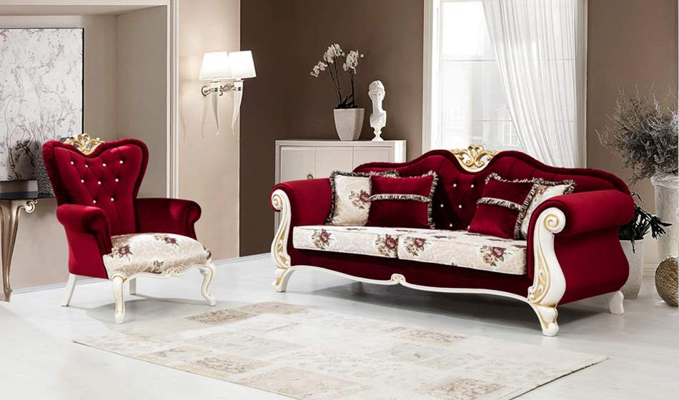 inegöl mobilya Royal Koltuk Takımı 3+3+1