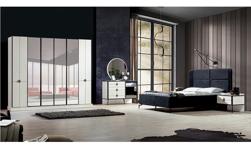 inegöl mobilya Elit Yatak Odası Takımı Ekru