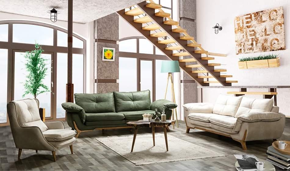 inegöl mobilya Relax Koltuk Takımı 3+3+1