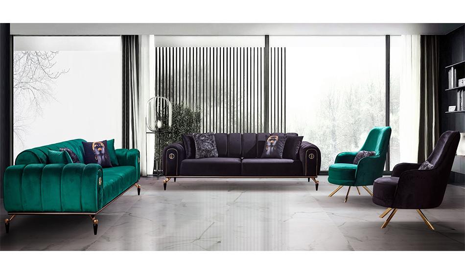 inegöl mobilya Atina Koltuk Takımı 3+3+1