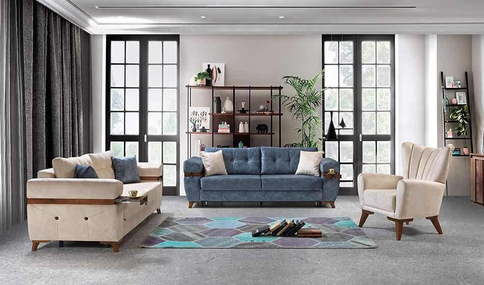 inegöl mobilya Alyans Koltuk Takımıı 3+3+1