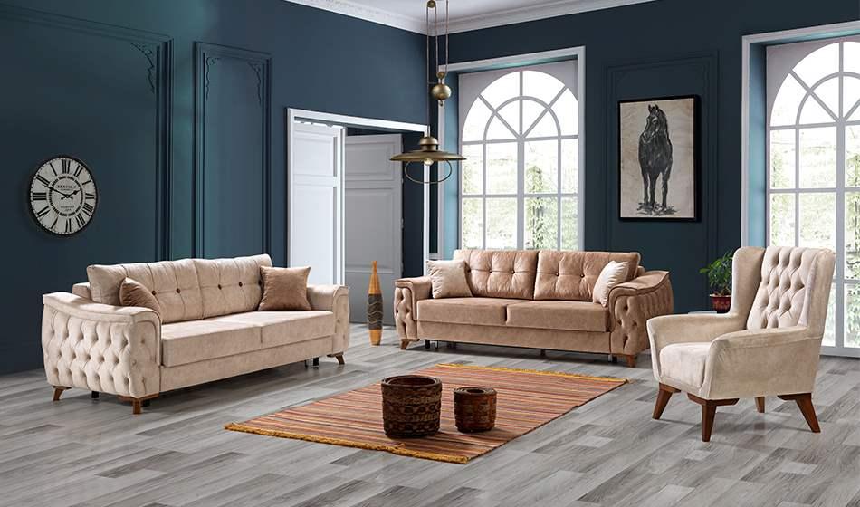 inegöl mobilya Bahar 2 Koltuk Takımıı 3+3+1