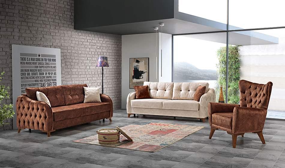 inegöl mobilya Poyraz Koltuk Takımıı 3+3+1